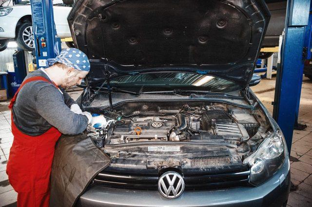 Двигатели Volkswagen Golf