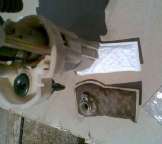 Установка топливного фильтра Шевроле Круз