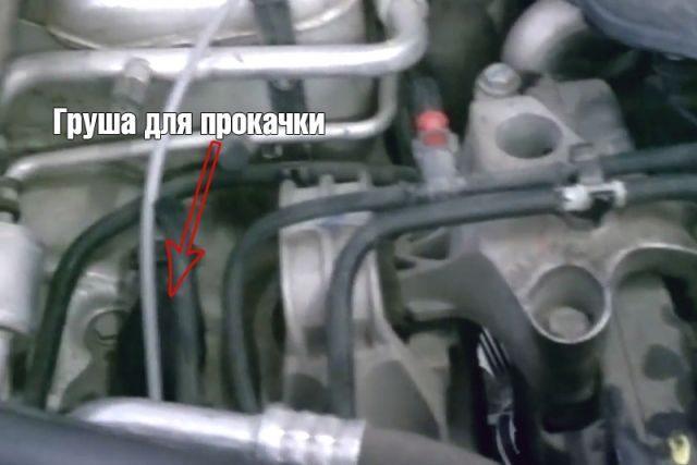 Прокачка топливной системы Рено Дастер