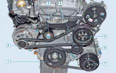 Двигатель Дэу Джентра