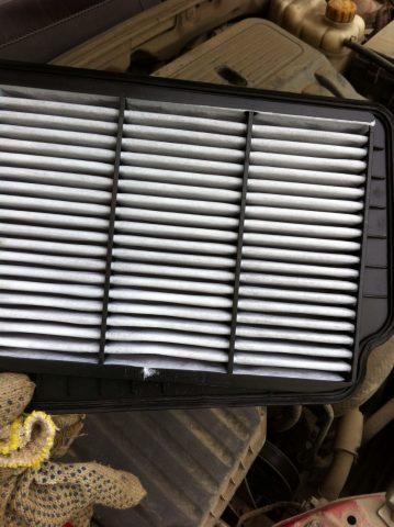 Воздушный фильтр Шевроле Лачетти