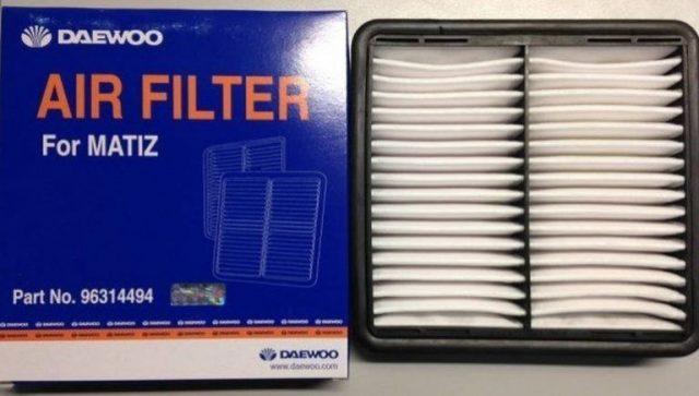 Воздушный фильтр Дэу Матиз