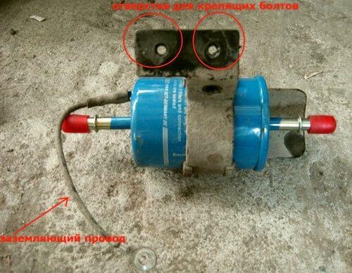 Устанавливаем топливный фильтр Замена топливного фильтра ChevroletAveo Т250