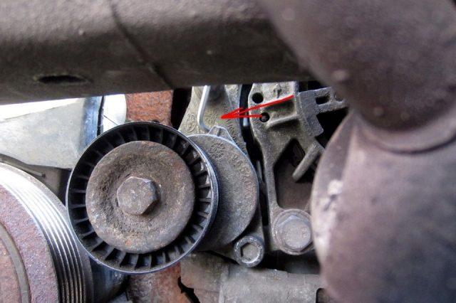 Замена ремня вспомогательных агрегатов Citroen C3