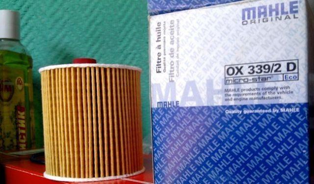 Новый масляный фильтр Citroen C3