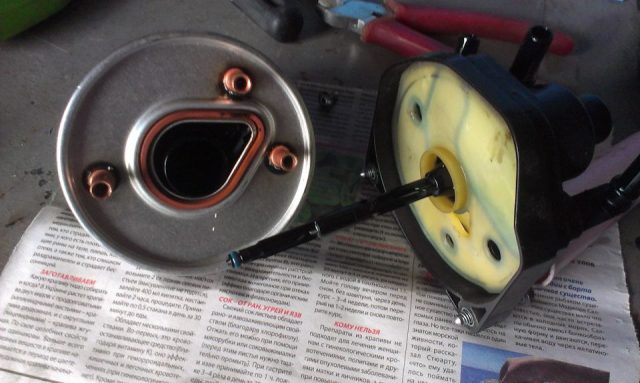 Фильтр и корпус топливного фильтра Citroen C3