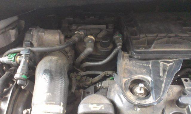 Расположение топливного фильтра Citroen C3