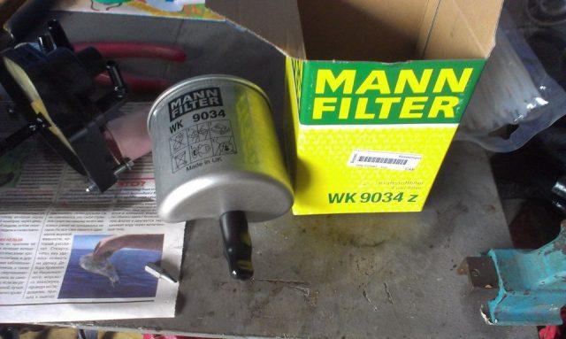 Фильтр топлива Citroen C3