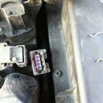 Питание модуля зажигания Citroen C4