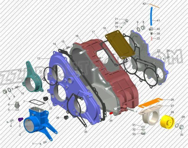 Замена ремня газораспределительного механизма Citroen C5