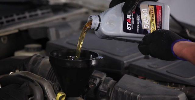 Моторное масло Citroen C5