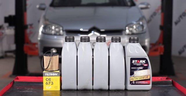 Комплект для замены масла Citroen C5