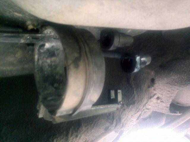 Кронштейн крепления топливного фильтра Skoda Fabia