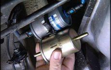 Устанавливаем топливный фильтр RENAULT Kaptur