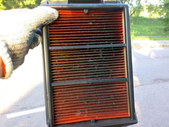 Воздушный фильтр Renault Koleos