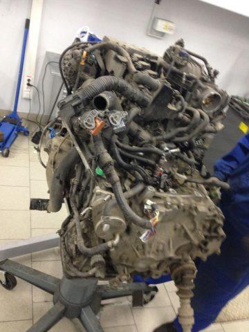 Замена цепи газораспределительного механизма Renault Koleos