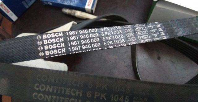 Ремень привода вспомогательных агрегатов Skoda Octavia A5