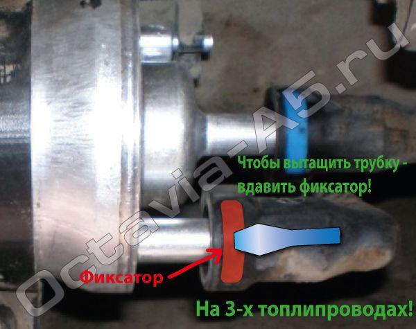 Топливопроводы Skoda Octavia A5