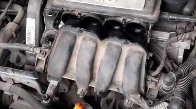 Коллектор Skoda Octavia A5