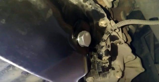 Сливной болт Skoda Octavia A5