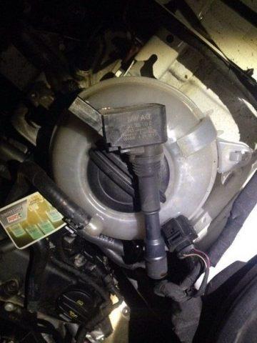 Катушка зажигания Skoda Octavia A7