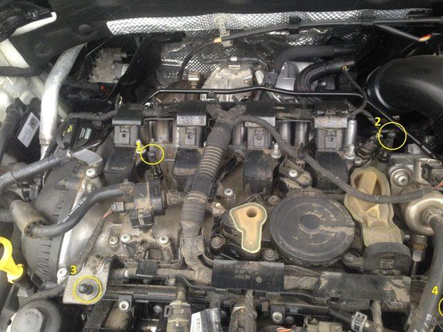 Крепление верхней крышки Skoda Octavia A7