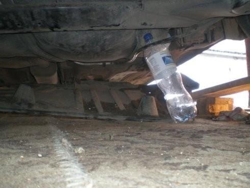 Высота для замены топливного фильтра Skoda Octavia Tour