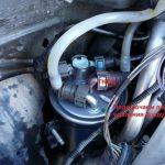 Устанавливаем топливофиксаторы Renault Scenic (дизель)