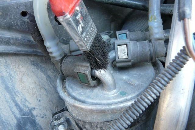Очистка топливопроводов Renault Scenic (дизель)