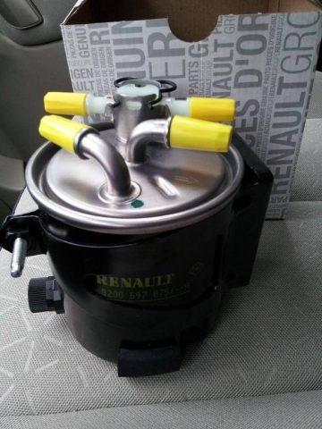 Топливный фильтр Renault Scenic (дизель)