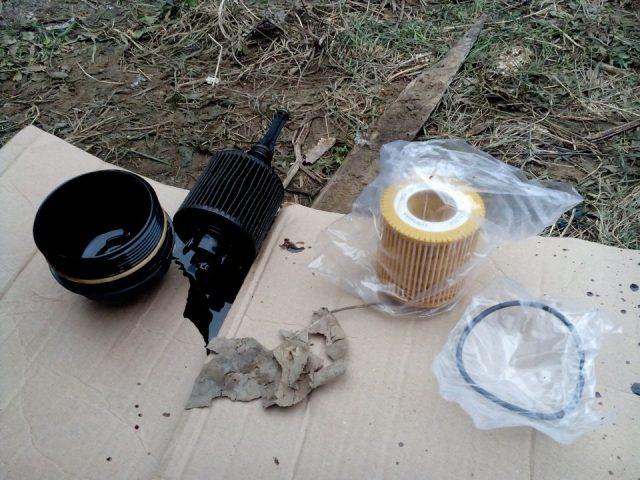 Масляный фильтр Skoda Fabia