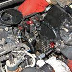Вынимаем топливный фильтр Peugeot 207