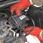 Вынимаем фильтр топлива Peugeot 207