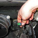 Колодка проводов топливного фильтра Peugeot 207