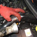Вынимаем воздуховод Peugeot 207