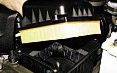 Замена воздушного фильтра Chevrolet Niva